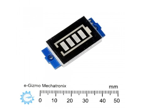 7.4V (2S) Lithium-ion Battery Charge Indicator