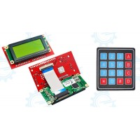 Serial LCD II 4X20 (MDLS40433) with Keypad 4X4 Function