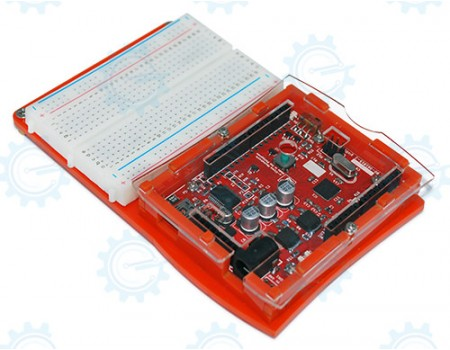 gizDuino + 644 Starter Kit with 2x16 LCD