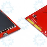 "TFT LCD Shield 2.4"" with MicroSD Interface"