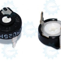Trimmer Potentiometer 10K 3PINS BLACK