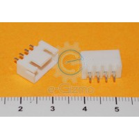Male Header Wafer 4-Pins 2.54mm Pitch
