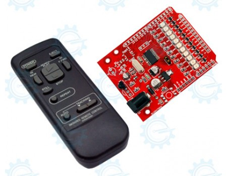 11 Function IR Remote Control Kit