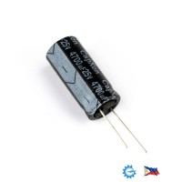 CapXon 4700uF/25V KF series 105C Low ESR capacitor