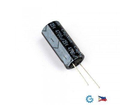 CapXon 4700uF/25V KF series 105C Low ESR capacitor