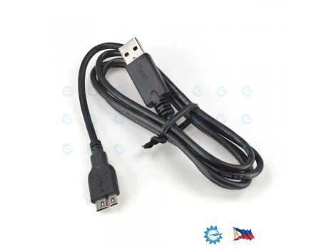 USB 3.0 A to Micro B Cable 1.0M JEM Cable for External Hard Disk Drive HDD
