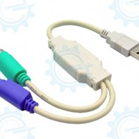USB to PS/2 Connector