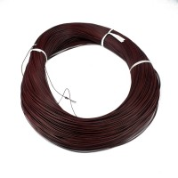 Hook up wire AWG26 Tinned Stranded Brown (per Meter)
