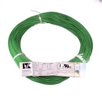 Hook up wire AWG26 Tinned Stranded Green (per Meter)