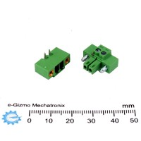 2-pole  Dinkle Pluggable Screw Terminal Connector