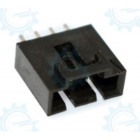 4 -Pins wafer conn. black