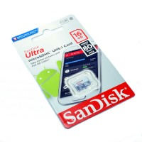 Sandisk Ultra 16GB microS