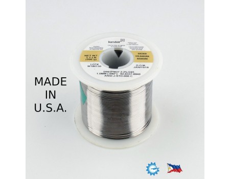 Kester Soldering Lead Wire 1.0mm Sn63Pb37  Flux245 Core 58 500g 92-6337-8846