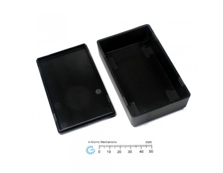 Plastic Enclosure 100x60x28 Black