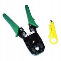 Crimper for RJ plug