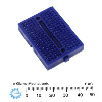Mini Breadboard Blue