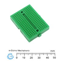 Mini Breadboard Green