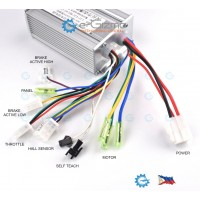 350W BLDC Brushless DC Motor Controller Driver