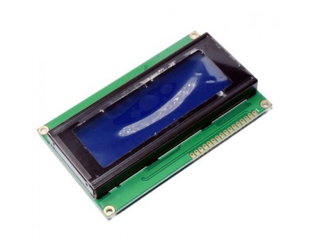20x4 LCD Display Blue