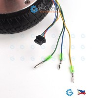 6.5-inch 350W BLDC Hub Motor 36V Solid Tires DIY Projects