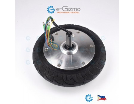 8-inch 350W BLDC Hub Motor 36V Solid Tires DIY Projects