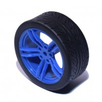 Vanity Wheel- Blue/Black