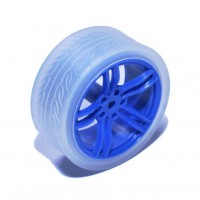 Vanity Wheel- Blue/White
