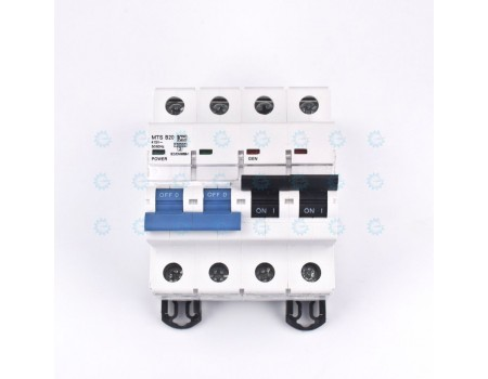 Terasaki MTS B20 Manual Transfer Switch Circuit Breaker 20A 2-Pole DIN Rail