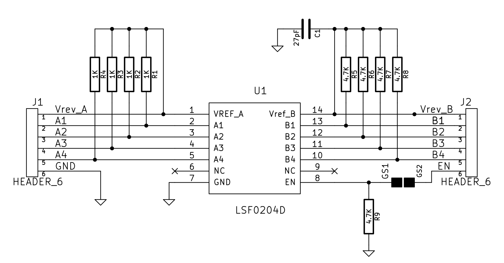 Multi Voltage Level Converter Shifter Circuit Download
