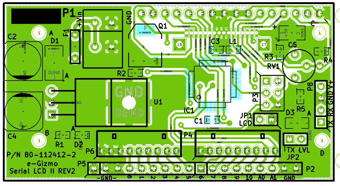 Index of /oc/kits documents/Serial LCD II with Keypad Function